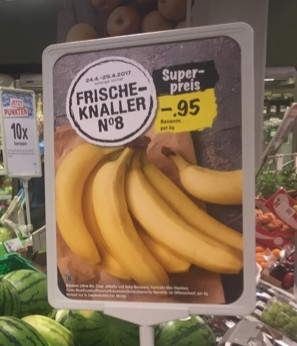 Bananas Ad Low price